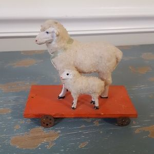 Other - Vintage German Sheep and Lamb